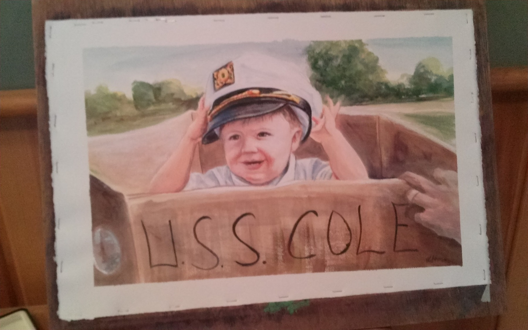 Cole, Acrylic