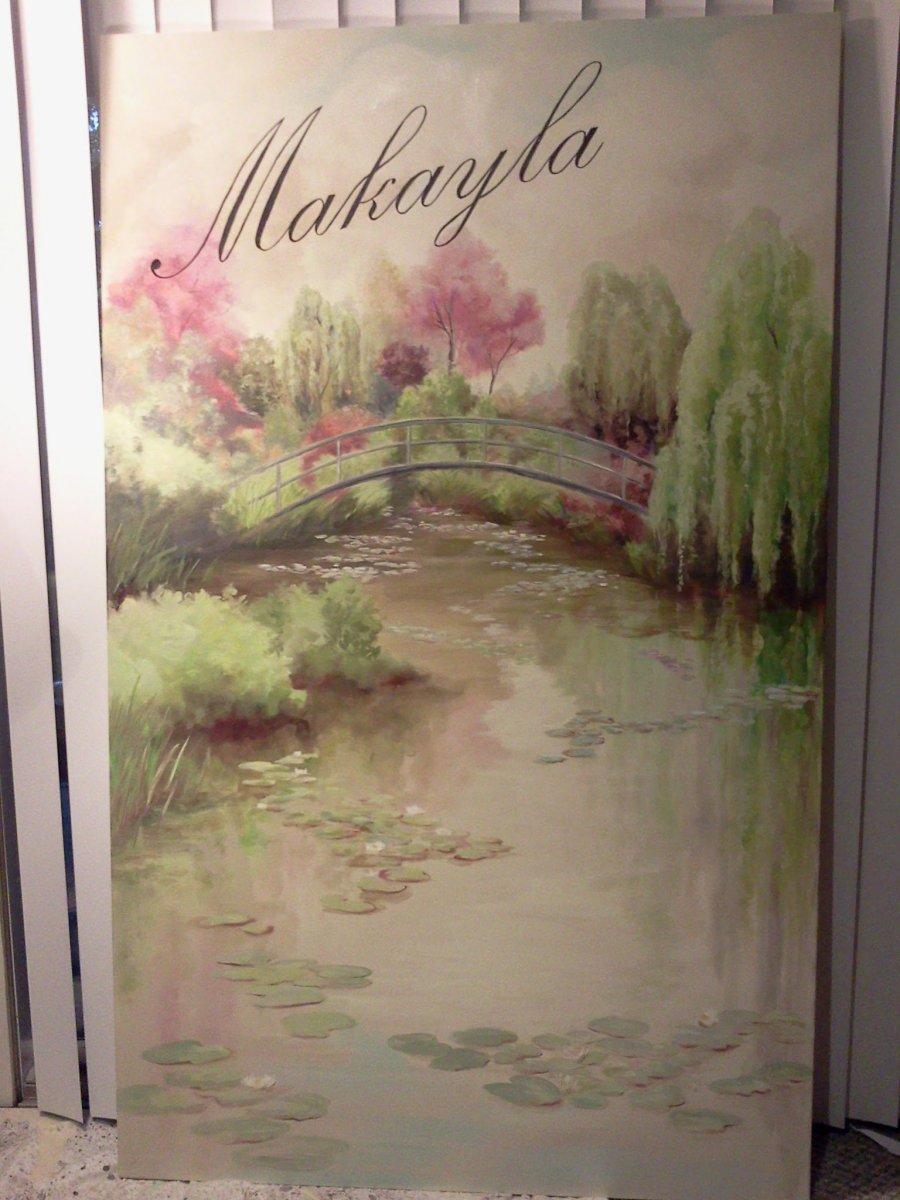 Makayla, Acrylic