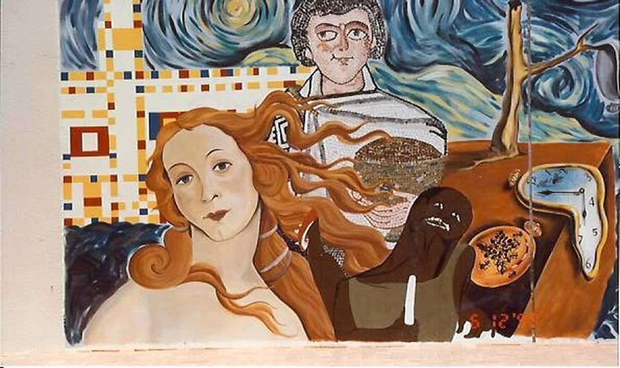 ASD School Mural closeup